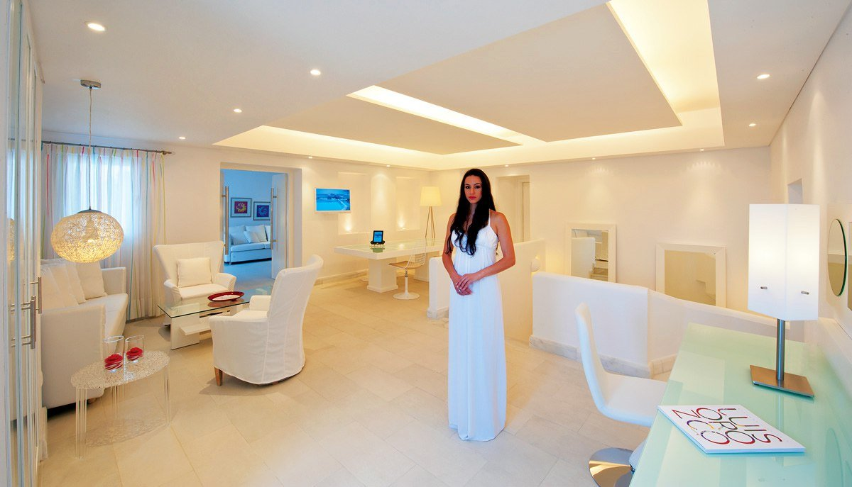 The Diamond Suite is a premium facility, with private pool at The Petasos Beach Resort & Spa.